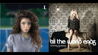 Till the Tennis Court Ends - Britney Spears and Lorde (Mashup) Mp3