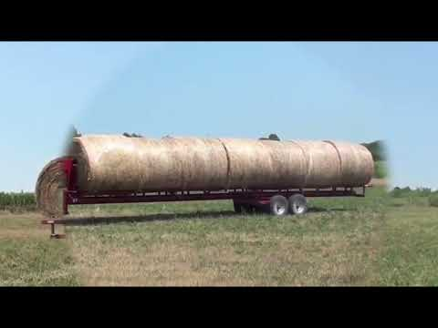 NEW  World Amazing Bizarre Modern Agriculture Equipment Mega Machines: Hay Bale Handling Tractor Tr