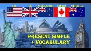 Урок G.1.: Present Simple + Vocabulary