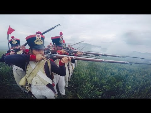 Waterloo 200: The Ultimate Action Cam Video - 8eme De Ligne, French Infantry Side