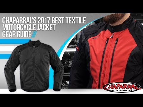 2017 Best Textile Motorcycle Jacket Gear Guide at ChapMoto.com