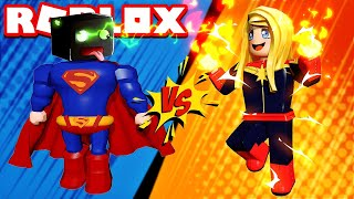 WHO IS THE BEST SUPERHERO? Roblox [English/HD]