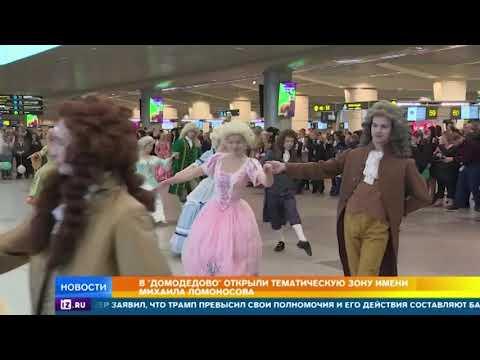 В РАН гордятся. что аэропорт Домодедово будет носить имя Ломоносова