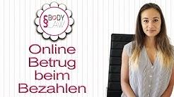 Internet Abzocke - Online Betrug beim Bezahlen - Geld überweisen - Verkäufer / Käufer verklagen