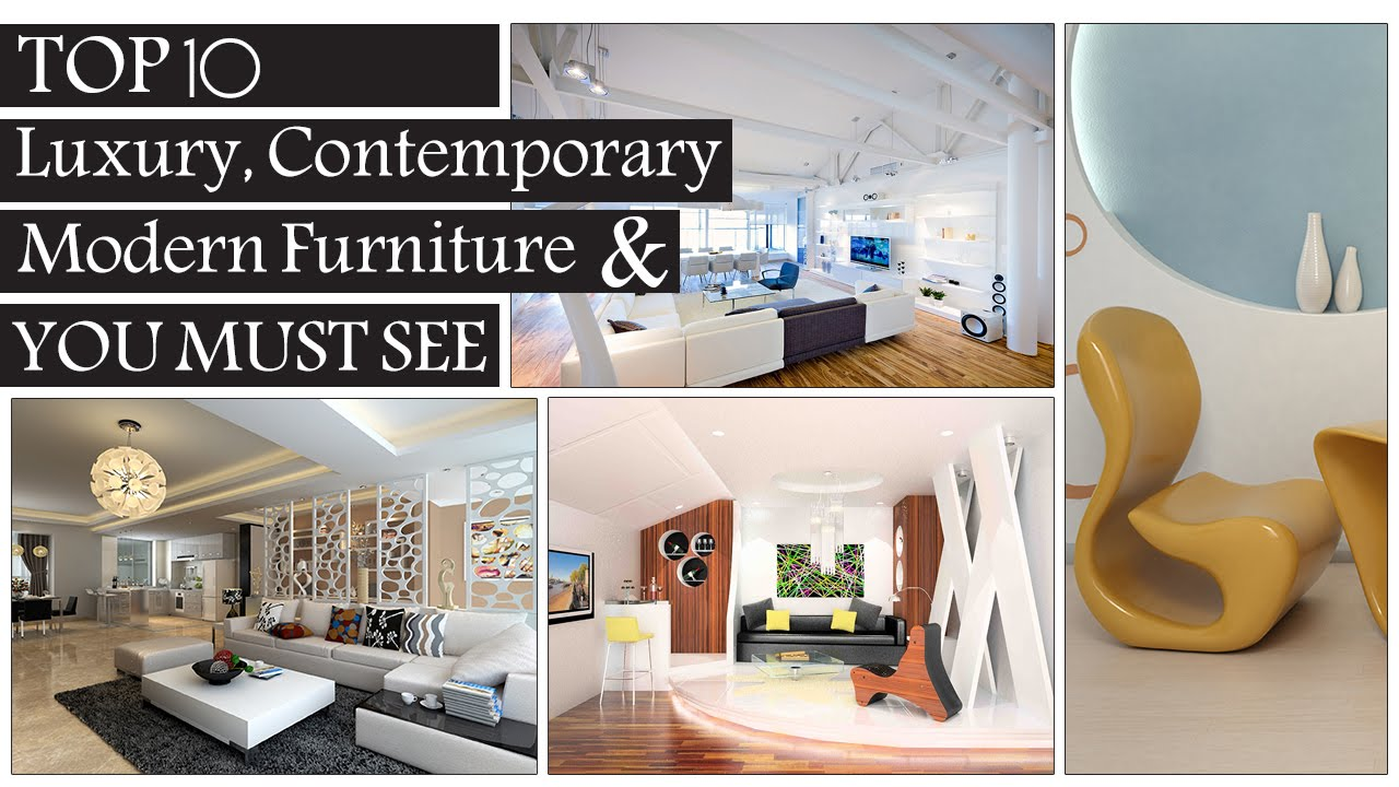 Top 10 luxury creative contemporary modern furniture design you must see youtube