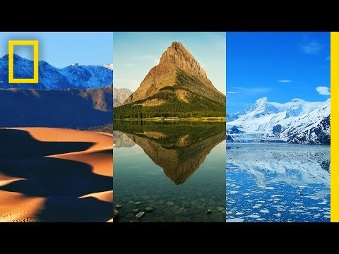 See all U.S. National Parks in One Minute   National Geographic