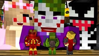 Minecraft School : EVIL KELLY & THE JOKER SHRINK US!