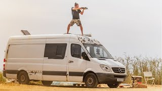 THIS IS TOO MUCH ][ Our Van Life Transformation (Alex & Amy)
