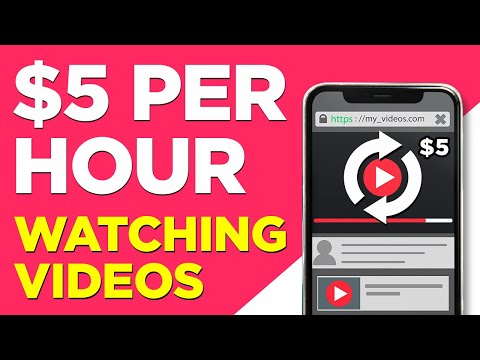 Make $5 Per Hour Watching Videos - Automatic PayPal Deposits - No Hands! *PROOF*