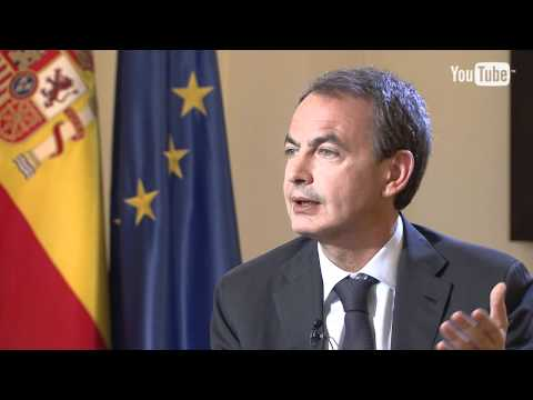 Entrevista You Tube a José Luis Rodriguez Zapatero