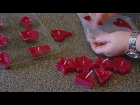 DIY – Schwimmkerzen als tolle Deko selber machen – Kerzen giessen