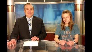 Gambar cover Aspiring Young Newscaster Visits Lakeland PBS