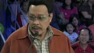 "Willie Nepumoceno as ""Sherap""  - Wowowee"