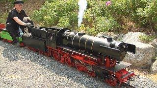 Ein Paradies für Modelleisenbahn - Dampfloks und Echtdampf - Lokomotiven beim Dampfbahnclub Taunus