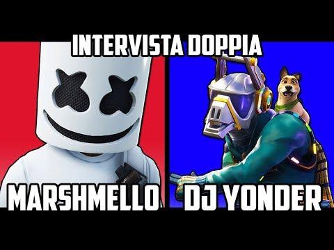 MARSHMELLO SFIDA DJ YONDER!! – CHI VINCE?! – INTERVISTA DOPPIA *Domande Scomode* Su Fortnite!