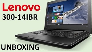 UNBOXING | LENOVO 300-14IBR