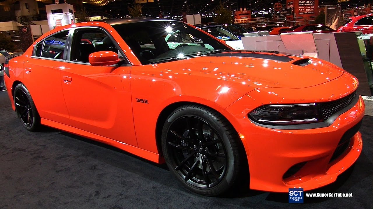 Go Mango Charger >> 2017 Dodge Charger 392 Daytona - Exterior and Interior ...