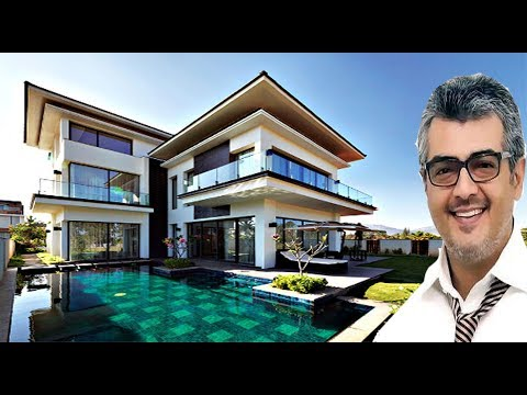 ajith, new house in<br><iframe title=