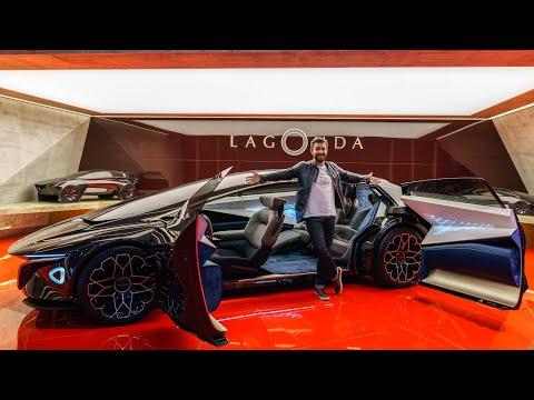 This Is The Aston Martin Lagonda EV