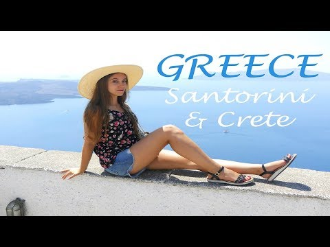 CRETE & SANTORINI | Greece travel diary