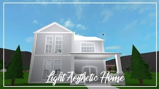 ROBLOX | Welcome to Bloxburg: Light Aesthetic Home
