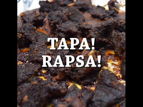 Filipino Garlic Beef Tapa - #RAPSA!