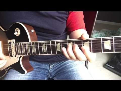 Guitar Lesson - How I play:  Bad Luck by Social Distortion