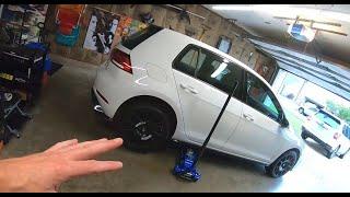 2018 VW GTI SE Ep.389: Weird Noise in Rear Passenger Side Wheel?