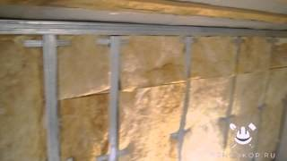Выравнивание стен гипсокартоном ч.4