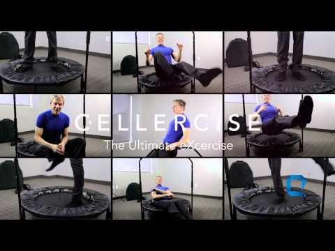 Q Sciences Cellerciser Ultimate David Hall Exerciser 10 min Rebounder workout anywhere