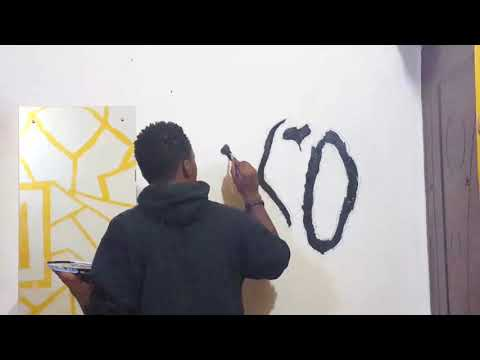 The Weeknd XO Room Wall Painting