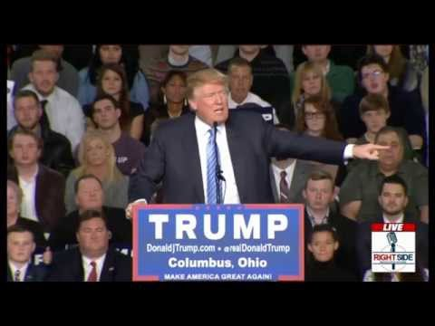 FULL EVENT Donald Trump EXPLOSIVE Rally in Columbus, OH 11 23 15 ...