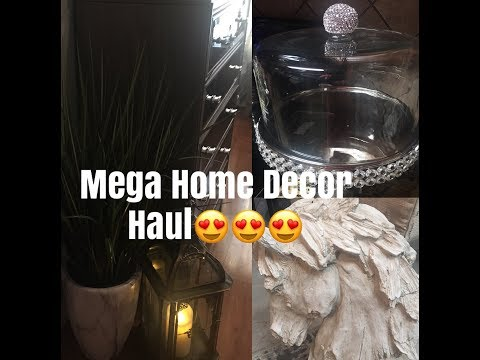 April 28, 2018 Huge, Mega Home Decor Haul!!! ZGALLERIE, HOMEGOODS, ROSS,INSPIRE ME, and more!!!