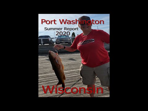 Summer Shoring Fish Port Washington, Wi..... Update 2020