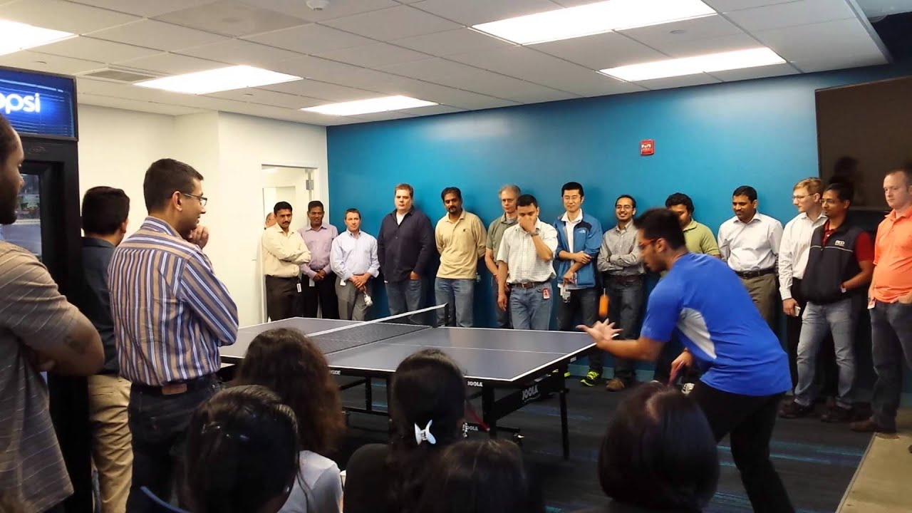 Office Ping Pong Tournament 2015 Finale Youtube