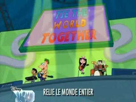 Phineas & Ferb song - A.G.L.E.T French Version