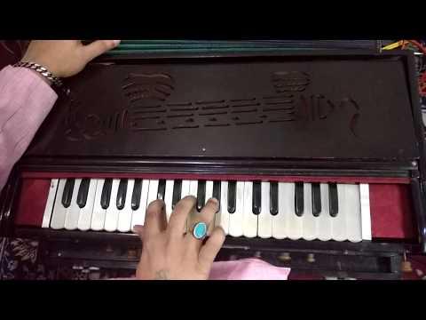 लहरा /नगमा (द्रुत लय ,तीन ताल ) पर बजाना सीखें '(FOR HARMONIUM, TABLA AND KATHAK)
