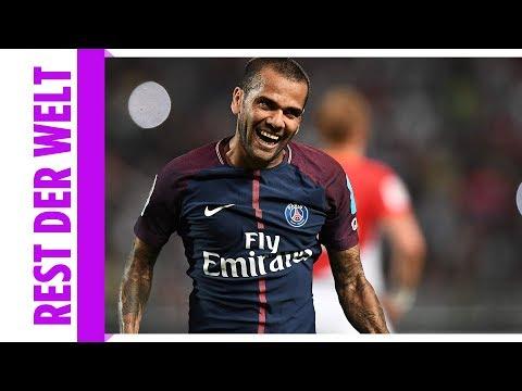 PSG-Star Alves mit Traum-Tor gegen Monaco / Wie Ronaldo