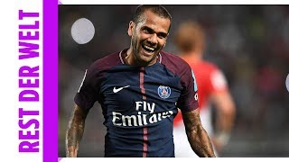 Wie Ronaldo! PSG-Star Alves mit Traum-Tor gegen Monaco
