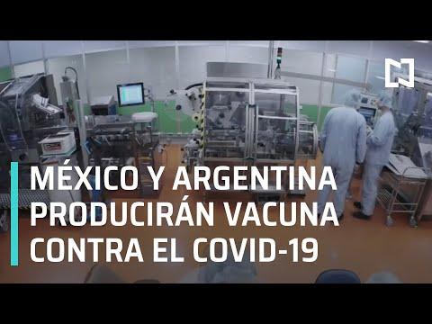 México y Argentina producirán vacuna contra el Covid-19 AstraZeneca en Latinoamérica - En Punto