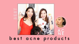 9 Best Acne Products ft. Joan Kim   Skincare & Makeup