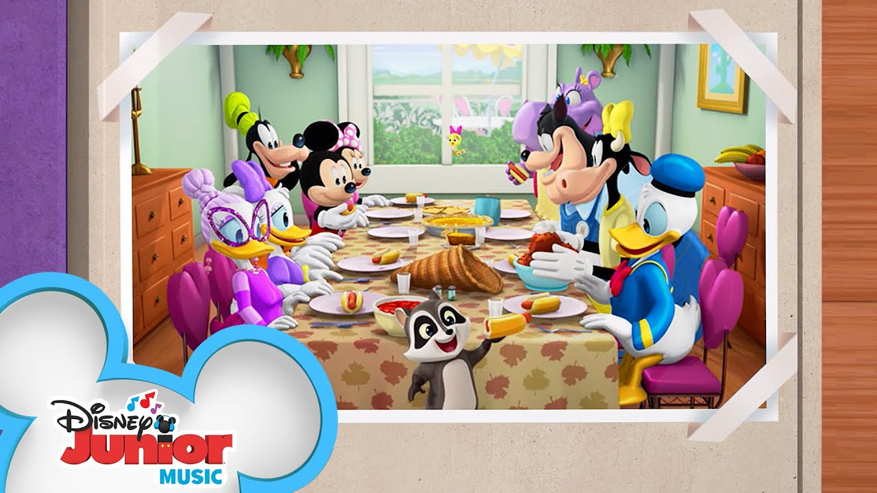 Happy Thanksgiving Helpers Music Video Mickey Mouse Mixed Up Adventures Disney Junior Youtube
