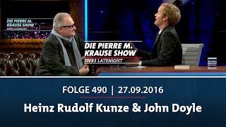 Die Pierre M. Krause Show vom 27.09.2016