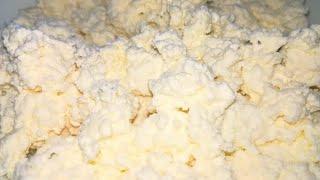 Домашний творог    Вкусный творог из йогурта