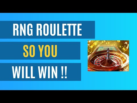 How to beat RNG ROULETTE  🔥 Online Casino