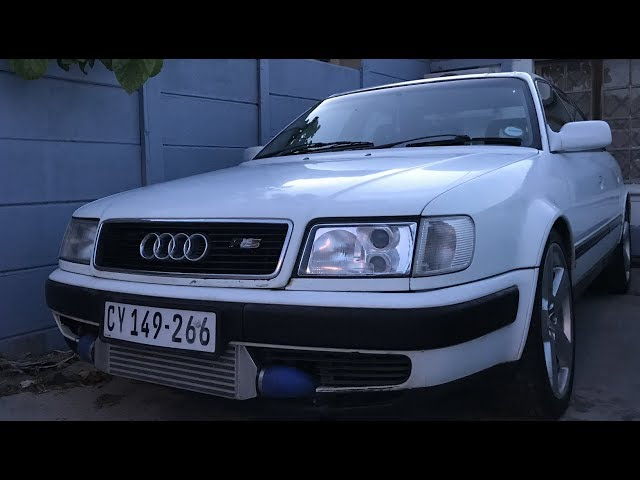 I bought an Audi S4!
