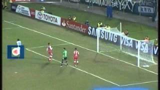 Olimpia de Paraguay 2 Santa Fe 0 (Relato Bruno Pont) Copa Libertadores 2013 Los goles (2/7/2013)