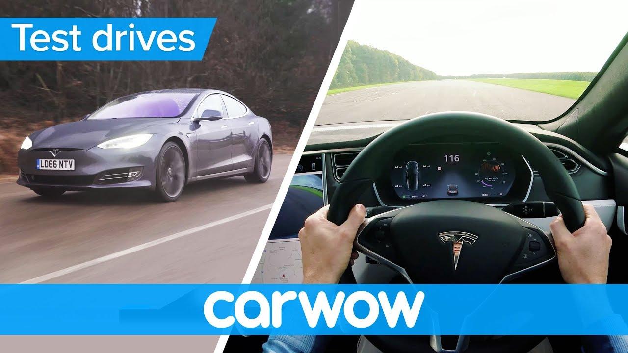 Tesla Model S P100d 2018 Pov Review Test Drives