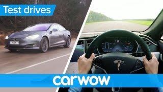 Tesla Model S P100D 2018 POV review | Test Drives