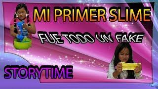 MI PRIMER SLIME FUE UN FRACASO | #StoryTime | Sol Perez